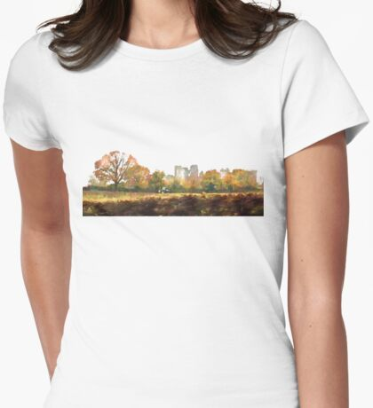 Hidden history Womens Fitted T-Shirt