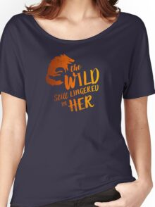 """""""The Wild Still Lingered In Her"""" Women's Relaxed Fit T-Shirt"""