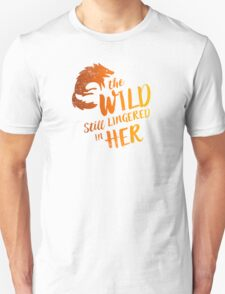 """The Wild Still Lingered In Her"" Unisex T-Shirt"