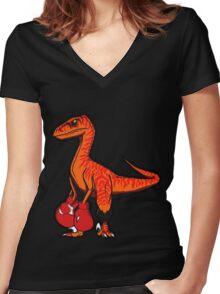 Velociboxer Women's Fitted V-Neck T-Shirt