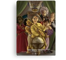 Ida Laura Pfeiffer - Rejected Princesses Canvas Print