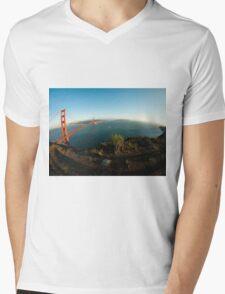 Top of the World Mens V-Neck T-Shirt