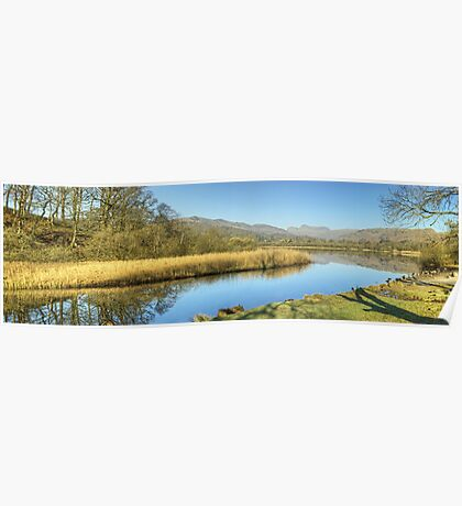 The River Brathay At Elterwater Poster