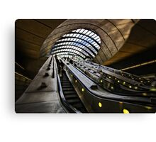 Canary Wharf Jubilee Line Canvas Print