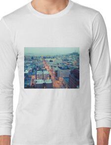 Powell Street at 6am Long Sleeve T-Shirt