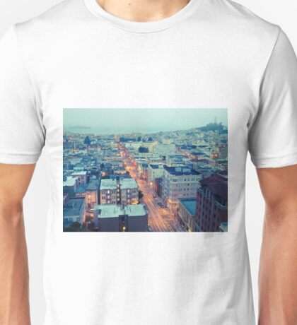 Powell Street at 6am Unisex T-Shirt