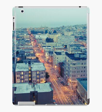 Powell Street at 6am iPad Case/Skin