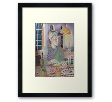 Italian Dinner Framed Print