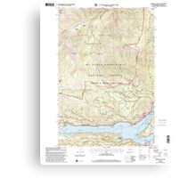 USGS Topo Map Washington State WA Rimrock Lake 243463 2000 24000 Canvas Print