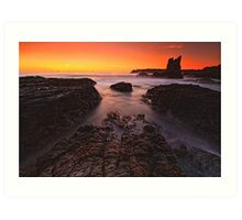 Cathedral Rocks Sunrise Art Print