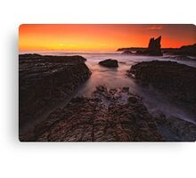 Cathedral Rocks Sunrise Canvas Print