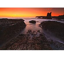 Cathedral Rocks Sunrise Photographic Print
