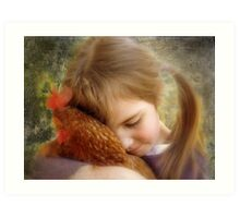 """A Child's Tenderness....."" Art Print"