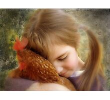 """A Child's Tenderness....."" Photographic Print"