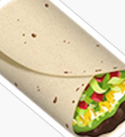 New Burrito Emoji! Trendy/Hipster/Tumblr/Meme Sticker
