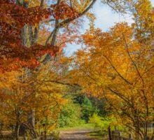 Autumn Scenery. Sticker