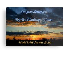 WWS Group - Challenge Entry Metal Print