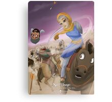 Mai Bhago - Rejected Princesses Canvas Print
