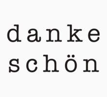 The Danke Schön by 082010