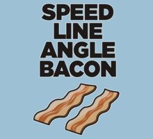 Speed Line Angle Bacon One Piece - Short Sleeve