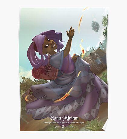 Nana Miriam - Rejected Princesses Poster