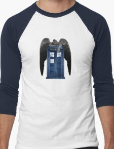 Weeping For The Doctor Men's Baseball ¾ T-Shirt