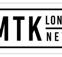Anchor Block MTK Long Island New York  Sticker