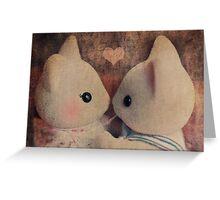 Kitty Kisses Greeting Card