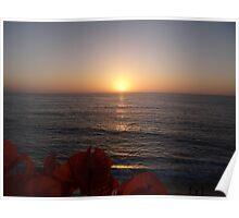 Spring Sunset - Puesta del Sol de Primavera Poster