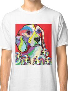 Beagle and Babies Classic T-Shirt