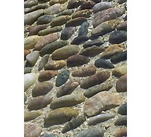 Rocks under the water Photographic Print