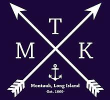 MTK with Cross Arrows  by © Rachel La Bianca Designs