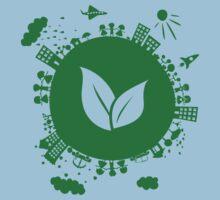 Grow Greens on Earth One Piece - Short Sleeve