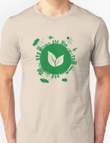 Grow Greens on Earth Unisex T-Shirt