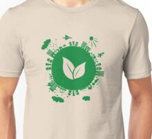 Grow Greens on Earth Unisex T-Shirt