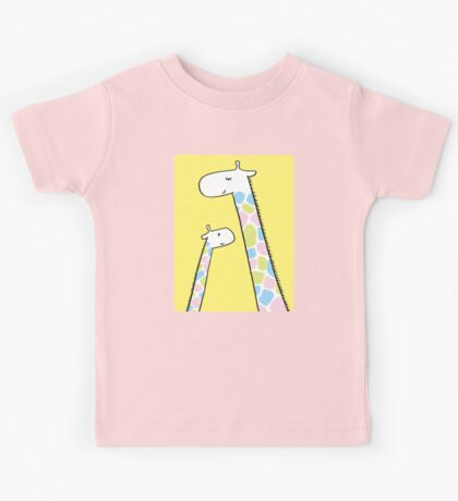 Giraffe family Kids Clothes