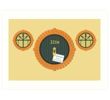 221B Bag End Art Print