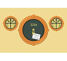 221B Bag End Photographic Print