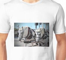 Percheron Draft Horses Unisex T-Shirt