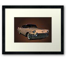 1957 Cadillac Sedan DeVille Framed Print