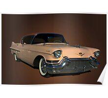 1957 Cadillac Sedan DeVille Poster