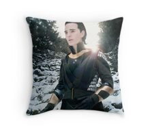 Ice Prince Loki Throw Pillow