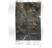USGS Topo Map Washington State WA Monte Cristo 20110428 TM Poster