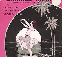 BAHAMA MAMA (vintage illustration) by ART INSPIRED BY MUSIC