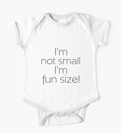 Fun Size (Black) Kids Clothes