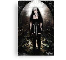 Dark Nun Canvas Print