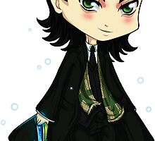 Loki Chibi by Tea Skull