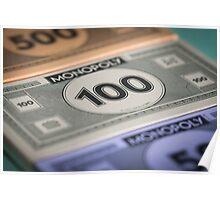Monopoly money Poster