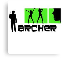 Archer TV Series V.2 Canvas Print