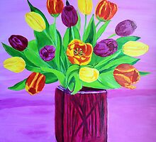 Easter tulips by maggie326